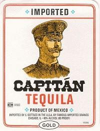 Capitan Tequila Gold 80@